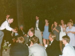 Casa De Los Ninos wedding fun