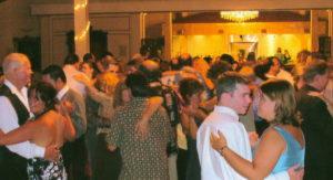 Wedding dance floor in Murphys at Ironstone Winery