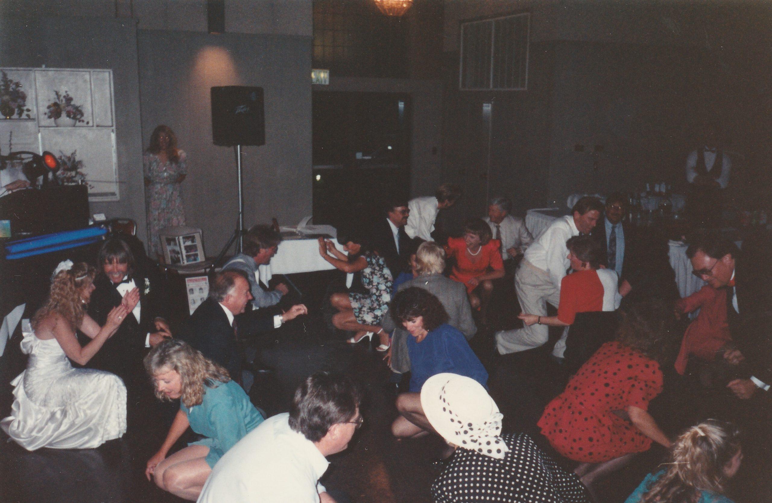 Walnut Creek wedding reception