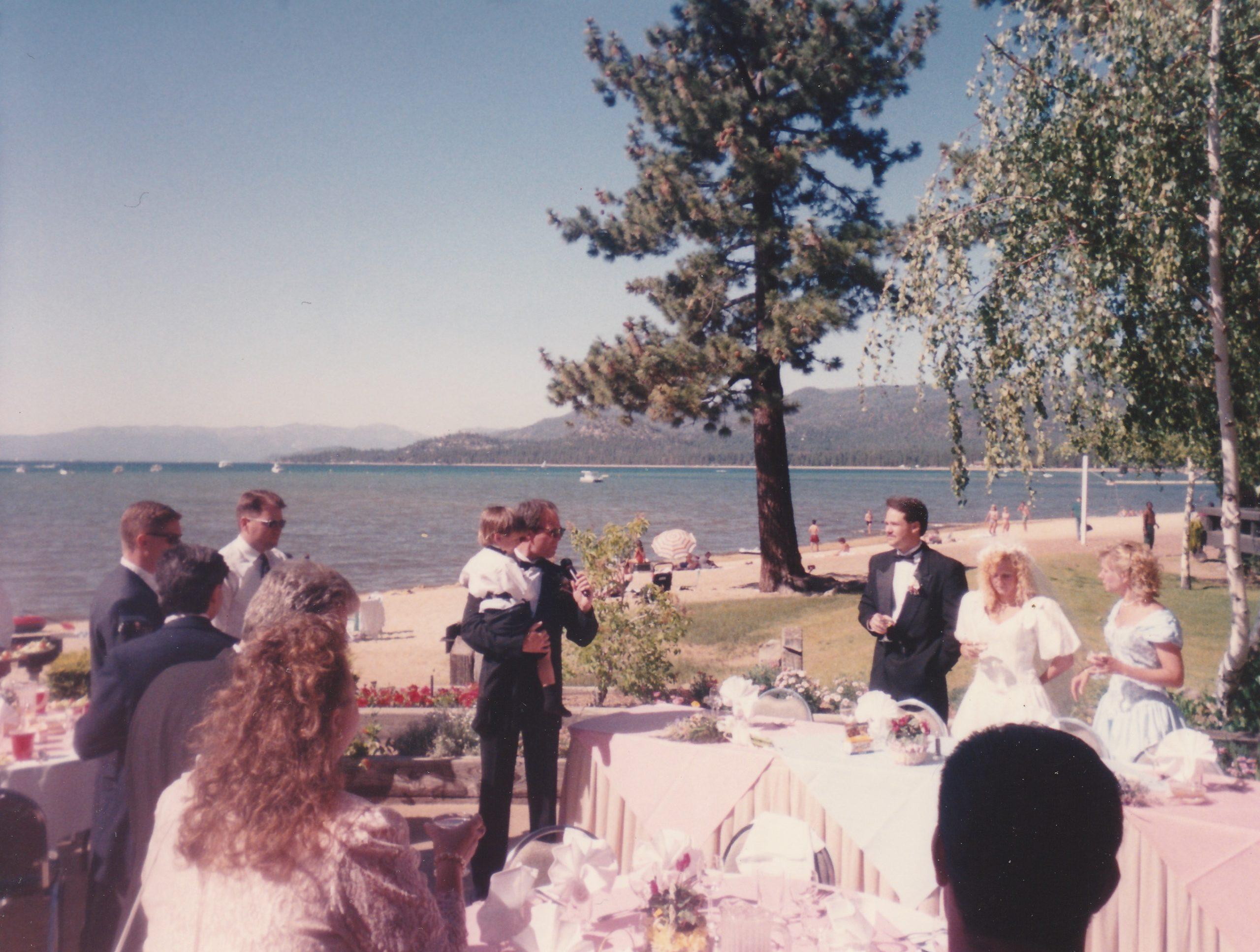Lakeland Village Lake Tahoe toasts