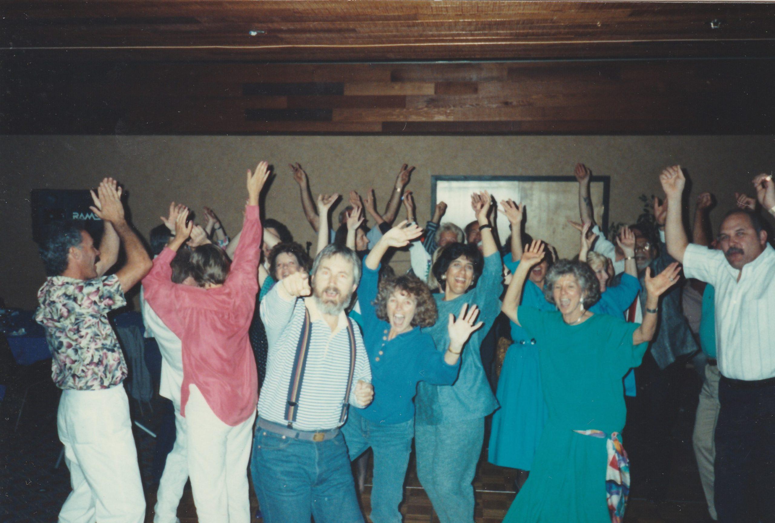 Lake Tahoe wedding party