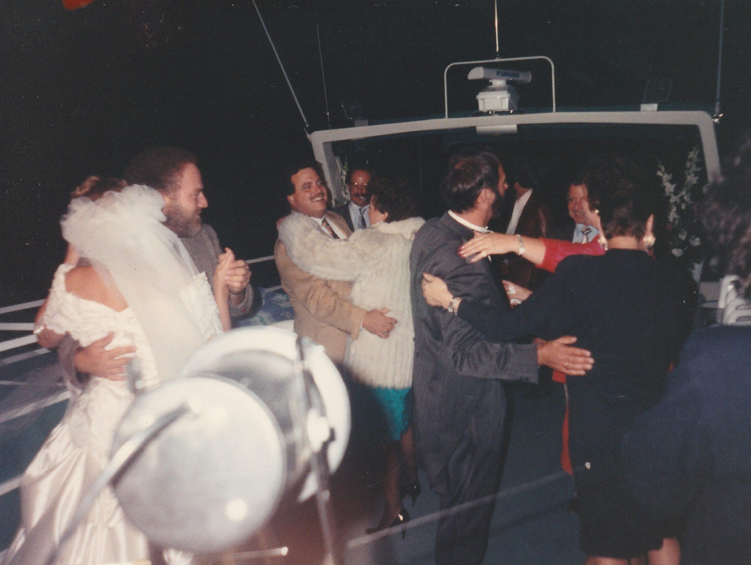 Lake Tahoe wedding cruise ship