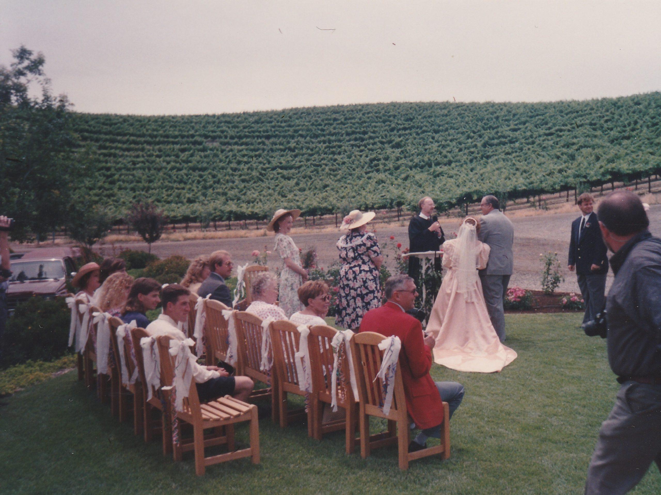 Madison winery ceremony