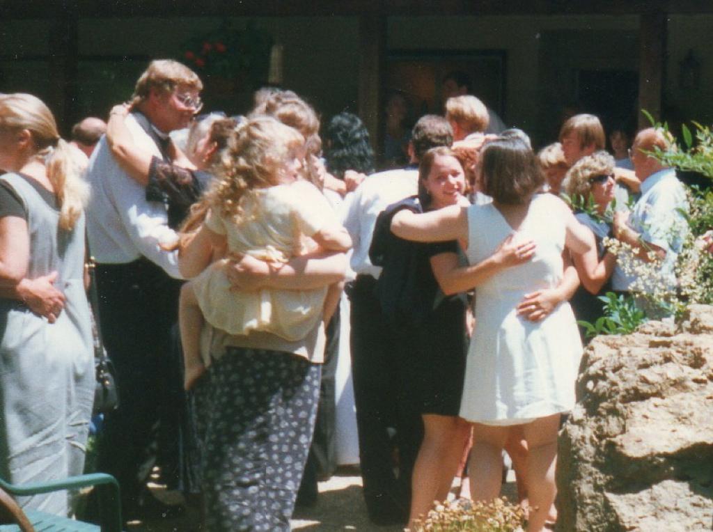 Outdoor Colfax wedding