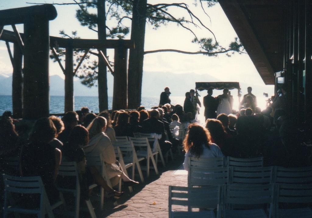 Edgewood Lake Tahoe ceremony