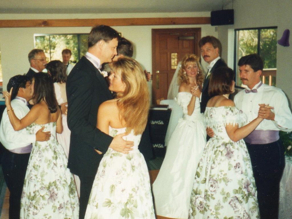 Gold Hill Vineyards wedding dance floor