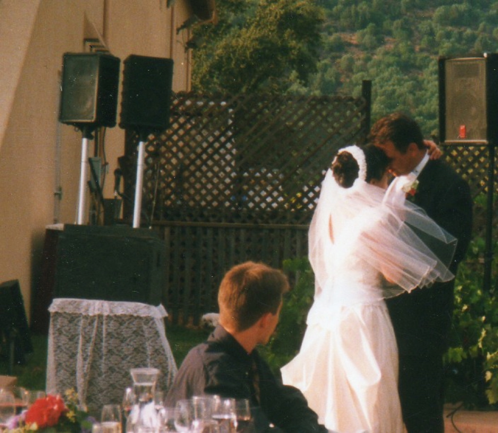 Napa Valley winery first dance