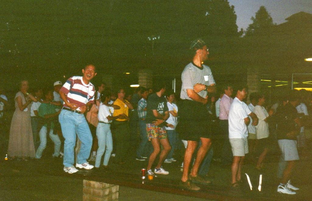 UC Davis party at Putah Creek