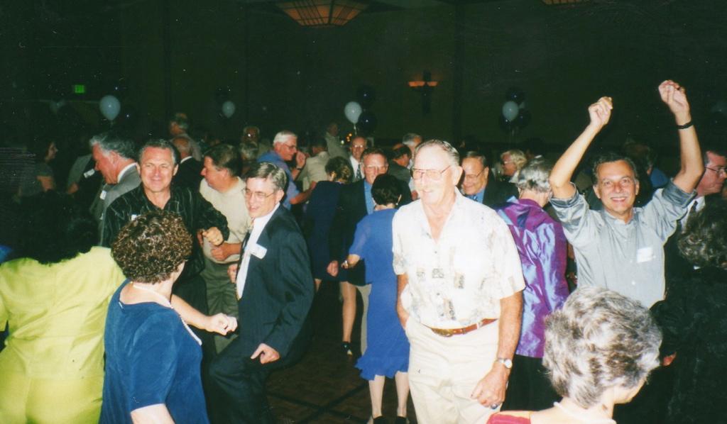 Everyone's on the dance floor