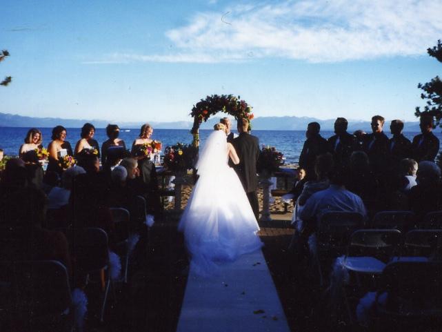 North Lake Tahoe ceremony