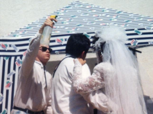 Summer wedding in Sacramento