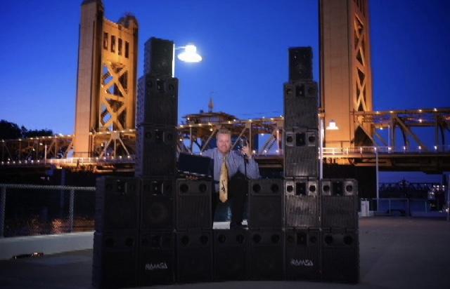 Speaker power on the river