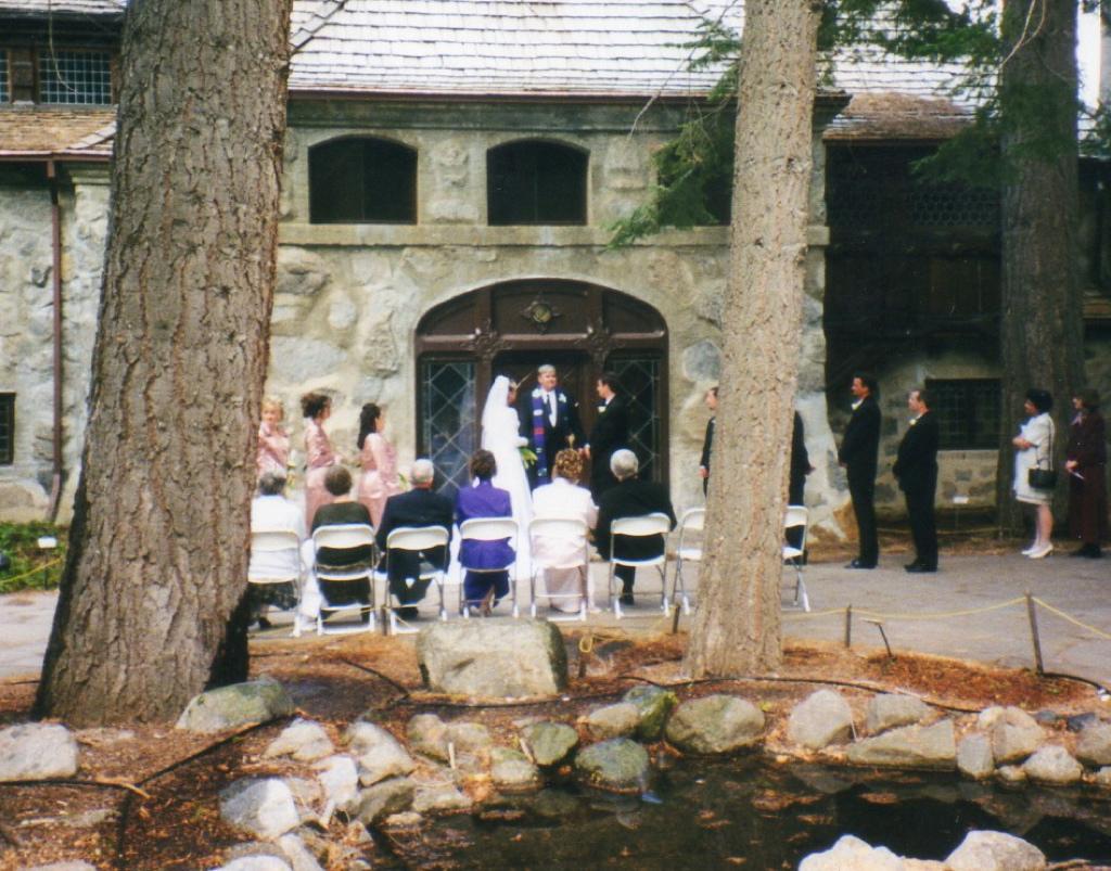 Vikings Home Castle Lake Tahoe ceremony