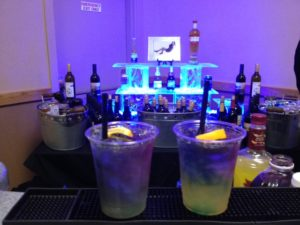 Specialty drinks for a birthday party celebration